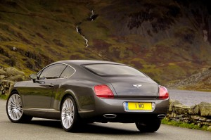 Снимка на Bentley Continental GT Speed back