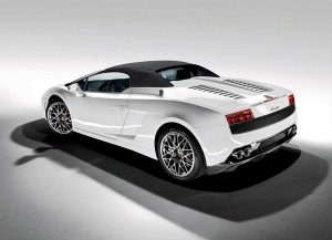Снимка на Gallardo LP 560 spyder back