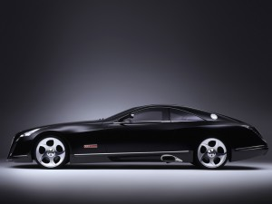 Снимка на Maybach Exelero Concept inside